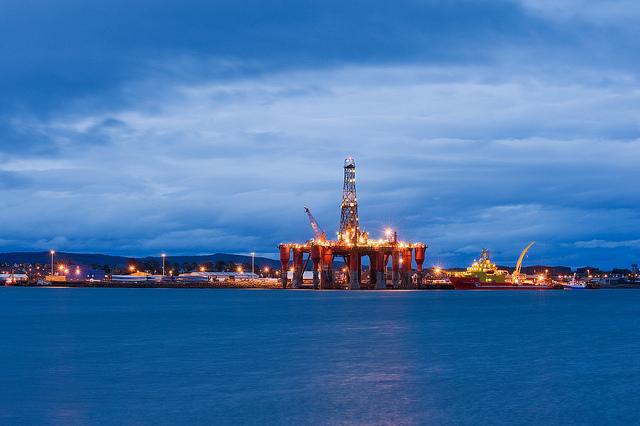 Image of North Sea Oil Rig