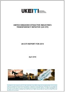 UK EITI report cover