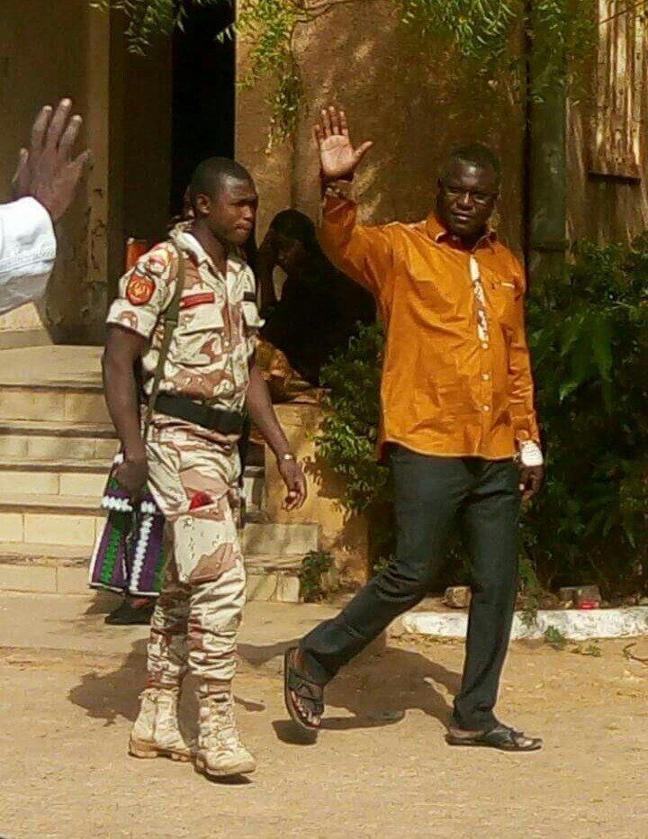 Photo Arrestation Ali Idrissa