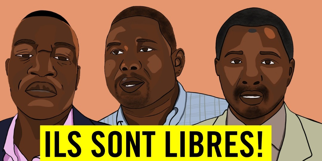 PWYP Members in Niger finally released. Now their charges must be dropped.